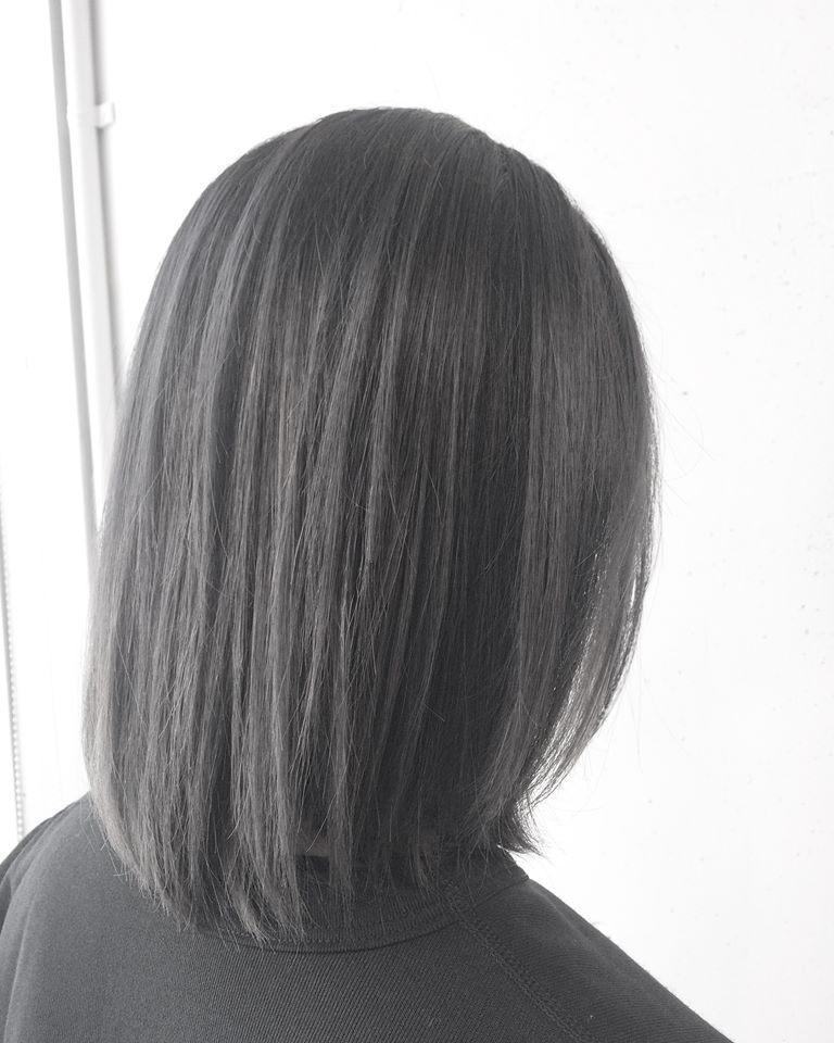 髪の毛表面チリチリ