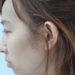 もみあげの毛にクセがあり、湿度が上がると顔周りから広がってしまう方